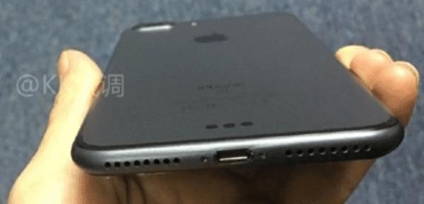iPhone 7 Plus de color negro