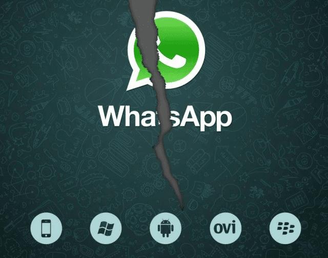 WhatsApp dejará de funcionar para en algunos móviles
