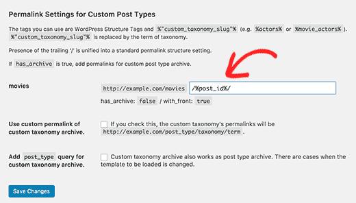 Adding tags to customize custom post type permalinks permalinks en wordpress Permalinks en wordpress como cambiarlo y personalizar entradas addingtags