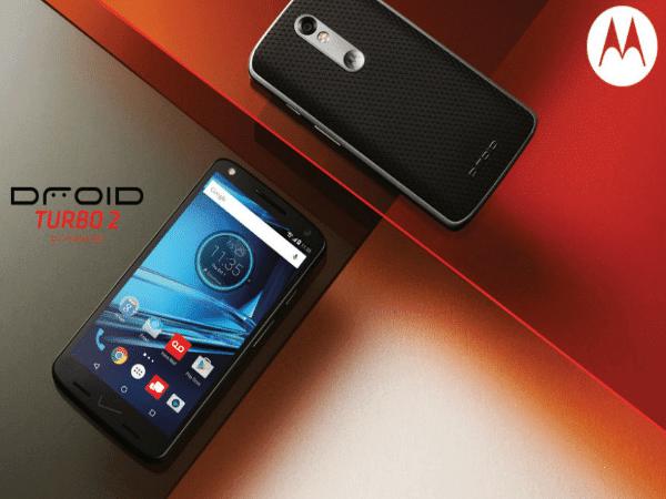 Motorola Anucia Droid Turbo 2 Con 48 horas de batería, pantalla inastillable