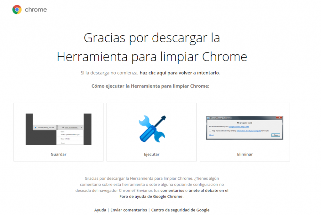 Herrameinta google chrome
