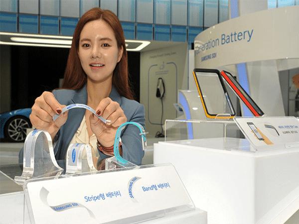 Las baterías flexibles de Samsung nos dejan con la boca abierta