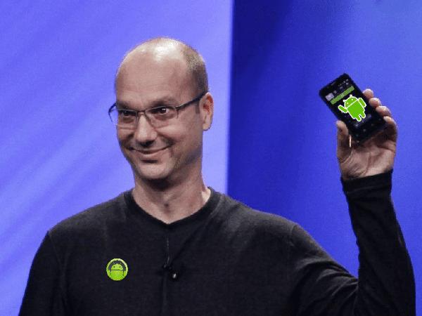 Andy Rubin Fundador Android Retorna para fabricar Smartphones