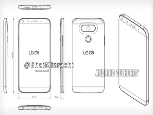 Salen a relucir imágenes del nuevo diseño del LG G5, serán reales estas imagines?
