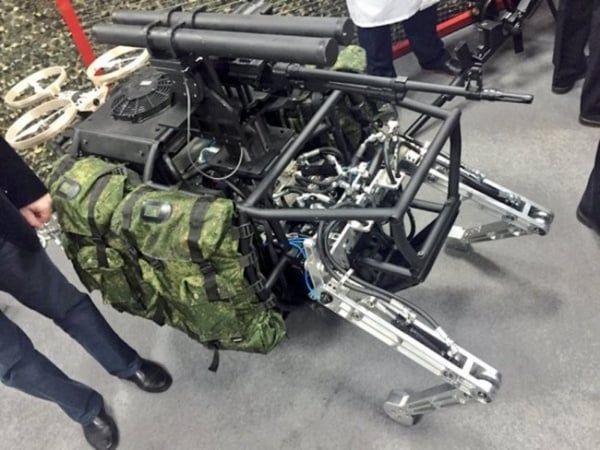 Temible robot de combate ruso es real y estará equipado con un potente armamento