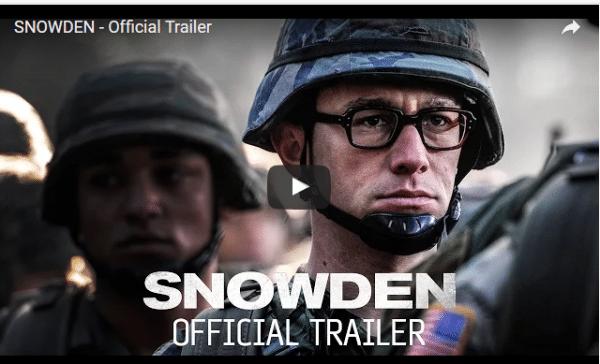 Primer trailer de la cinta biográfica de Edward Snowden