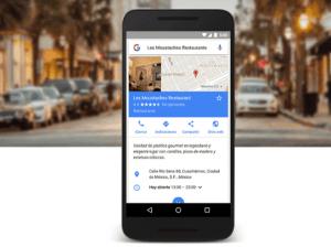 Google Maps cómo llegar a tu negocio en