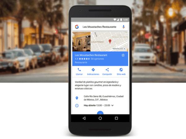 Google Maps pronto comenzará a previsualizar anuncios de las empresas locales que nos rodean