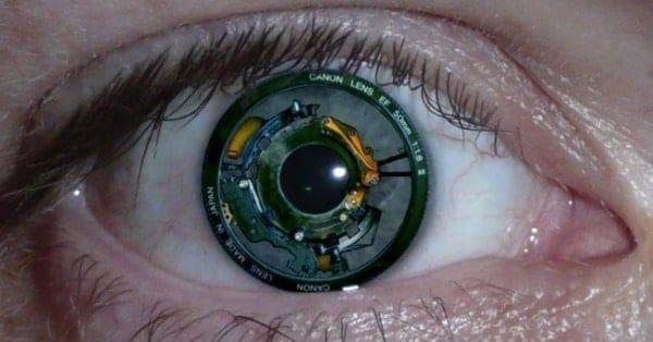 Una cámara en nuestro ojo de la mano de Sony