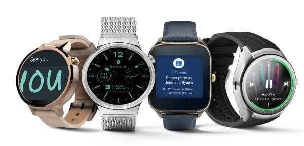 Google y sus Android Wear Smartwatches