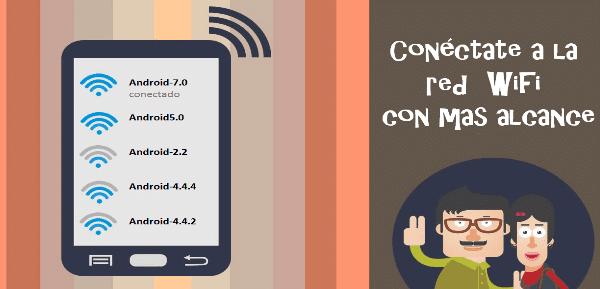 señal wifi en mi android
