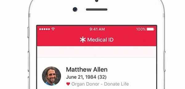 iOS 10 traera App para donante de órgano