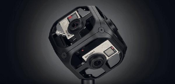 Seis cámara Omni de GoPro