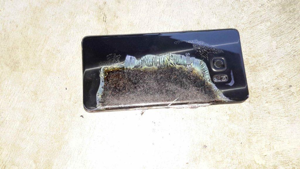 Samsung dejará de vender Note 7