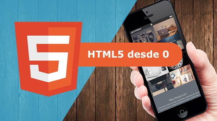 Aprende HTML5 desde 0 con 60 ejercicios practicos +proyectos