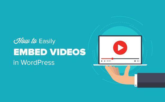 Videos en WordPress, tecnologias al limite