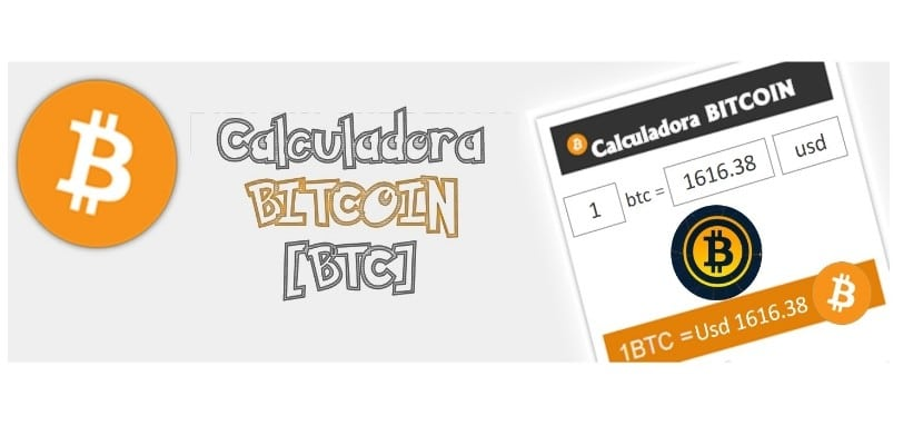 Calculadora de Bitcoin