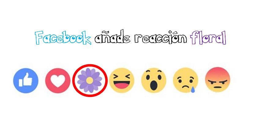 Facebook añade reacción floral