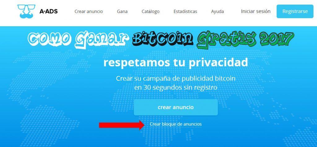 ganar bitcoin gratis 2017