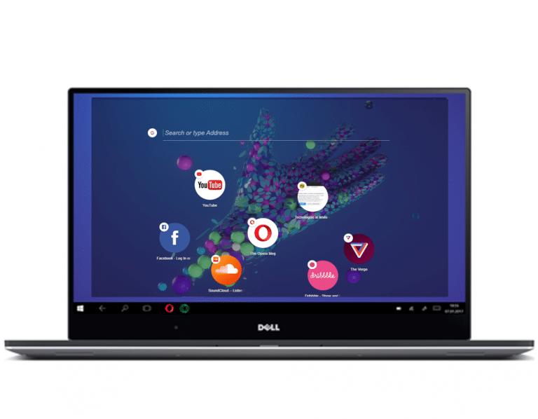 Opera Neon navegador para Mac y Windows