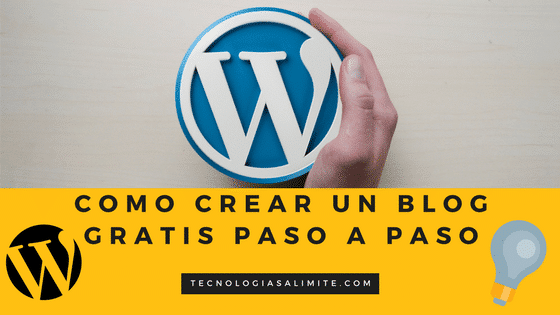 crear un blog gratis en wordpress