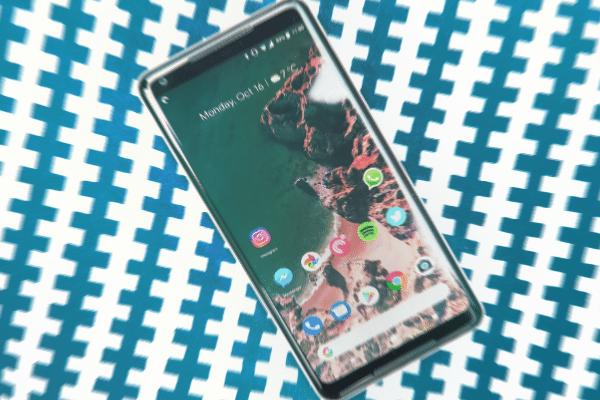 pantalla de Pixel 2 XL