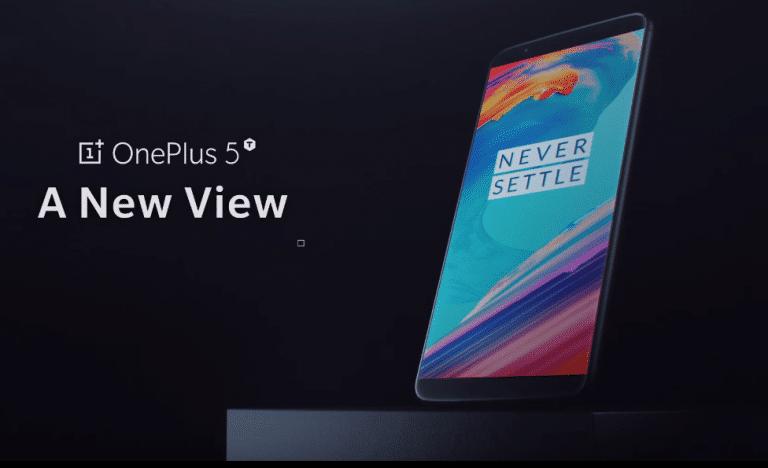 OnePlus 5T excelente combinación de especificaciones, diseño y precio