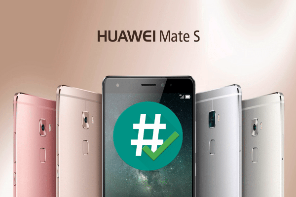 rootear Huawei Mate S