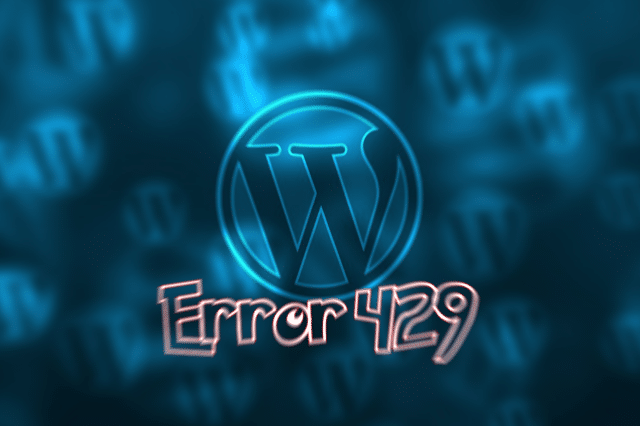 error 429 en WordPress
