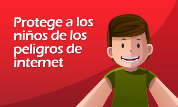 los peligros de internet, riesgos en internet para los niños