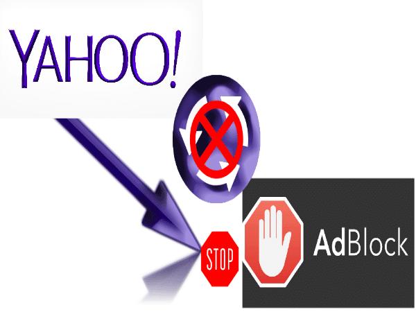 Yahoo! obstruye el acceso usuarios Adblock