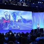 Facebook y su Oculus dando demostración VR en el mundo virtual