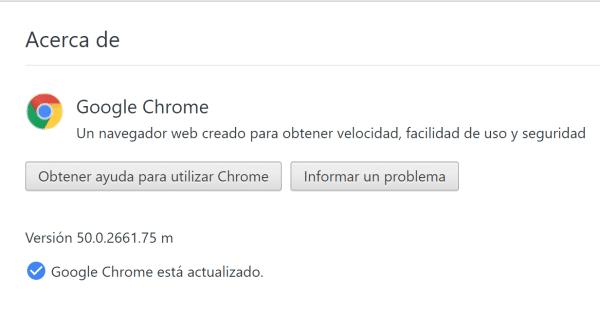 Google y su navegador Chrome50 sale nueva actualizacion Versión 50.0.2661.75 m