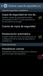 Restablecer android Lo que debes saber antes de restablecer de fábrica un movil Android Lo que debes saber antes de restablecer de fábrica un movil Android Restablecer android