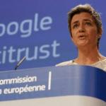 Correo electrónico de Gmail Unión Europea contra Google