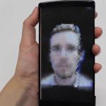 Smartphone HoloFlex flexible Pantalla 3D Proyectas Hologramas en la palma de su mano sin gafas