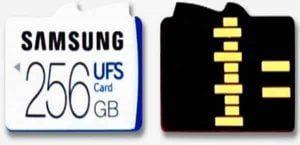 MicroSD UFS