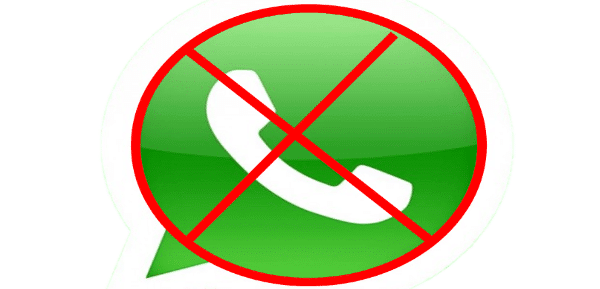 El mercado de FOREX WhatsApp podría bloquearte