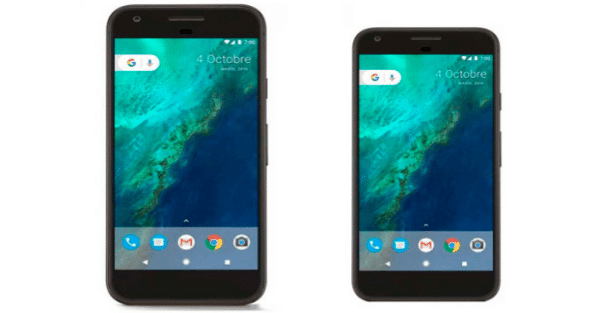 Los movieles píxel de google se filtran