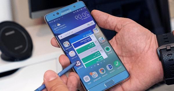 Samsung reembolsa el dinero del note 7 a usuarios