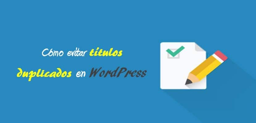títulos duplicados en WordPress