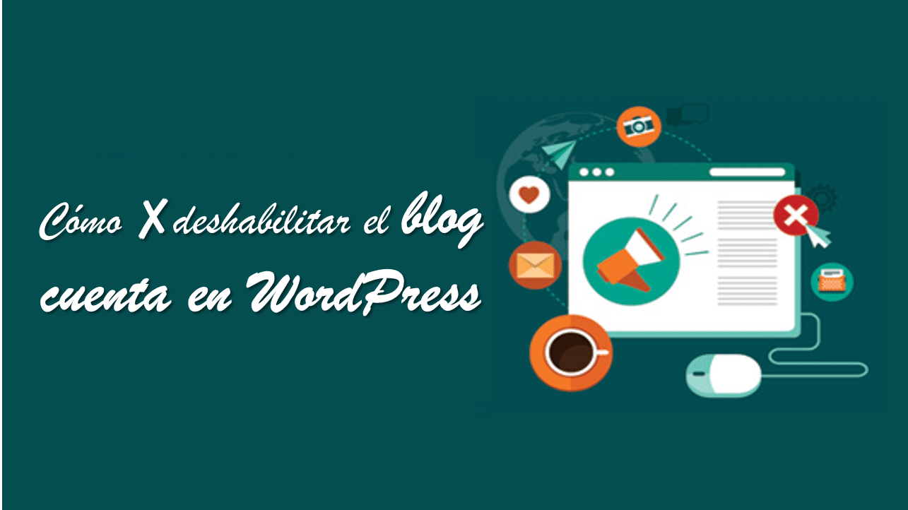 Hackear bypass google deshabilitar el blog cuenta en WordPress