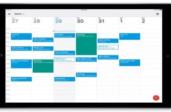 IPad consigue actualización masiva de Google Calendar