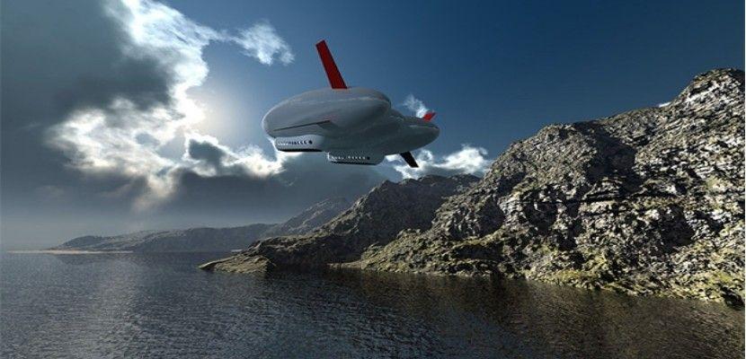 dirigible Sergey Brin construye secretamente un dirigible masivo Sergey Brin construye secretamente un dirigible masivo