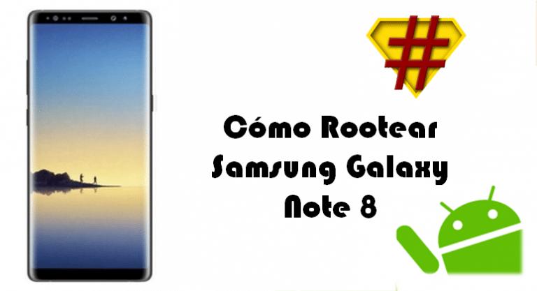 Cómo Rootear Samsung Galaxy Note 8 Exynos 8895