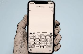 los iPhones corrigiendo letra i