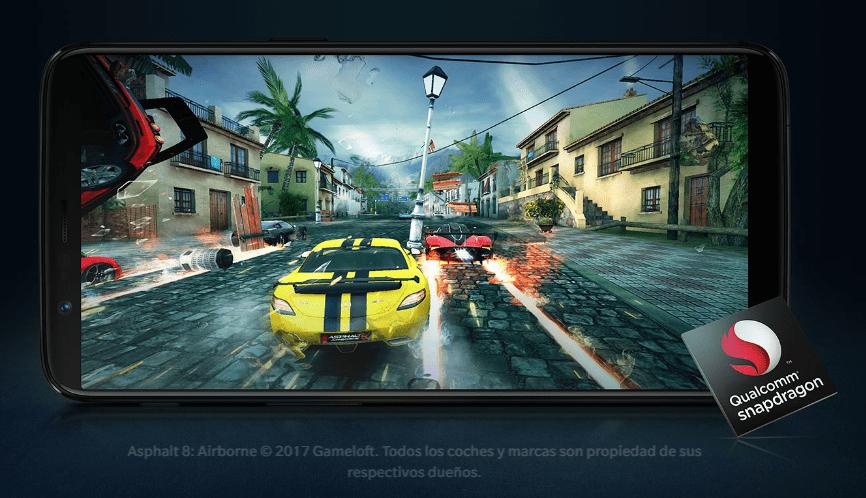 Rendimiento del nuevo OnePlus 5T