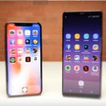 Calculadora btc iPhone X vs Samsung Galaxy Note 8