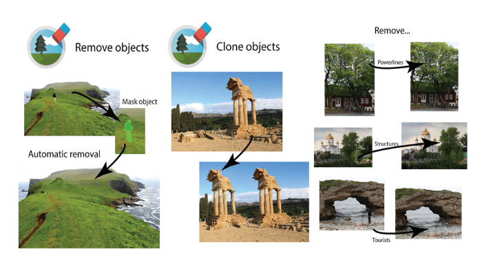Aplicaciones para rootear eliminar objetos de las fotos