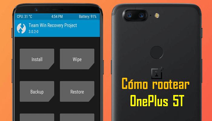 Como rootear OnePlus 5T desbloquear el gestor de arranque